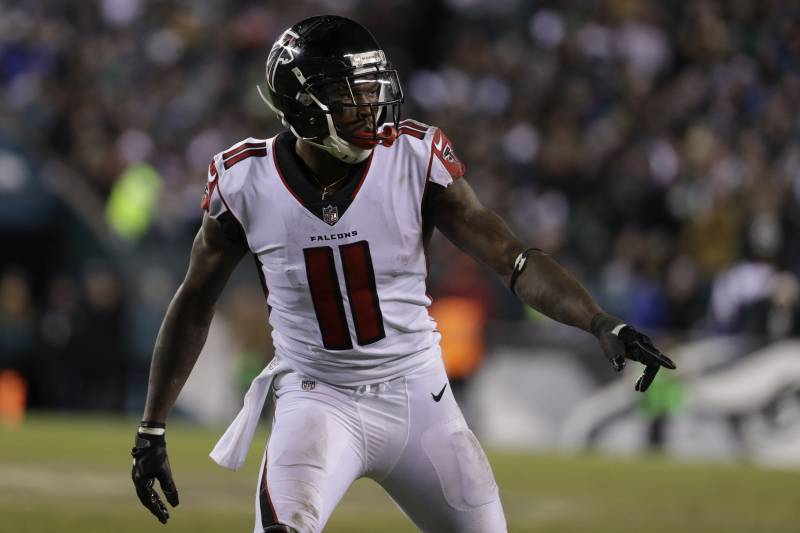 bbf85930c1c Atlanta Falcons  Julio Jones (11) in action during the second half of an