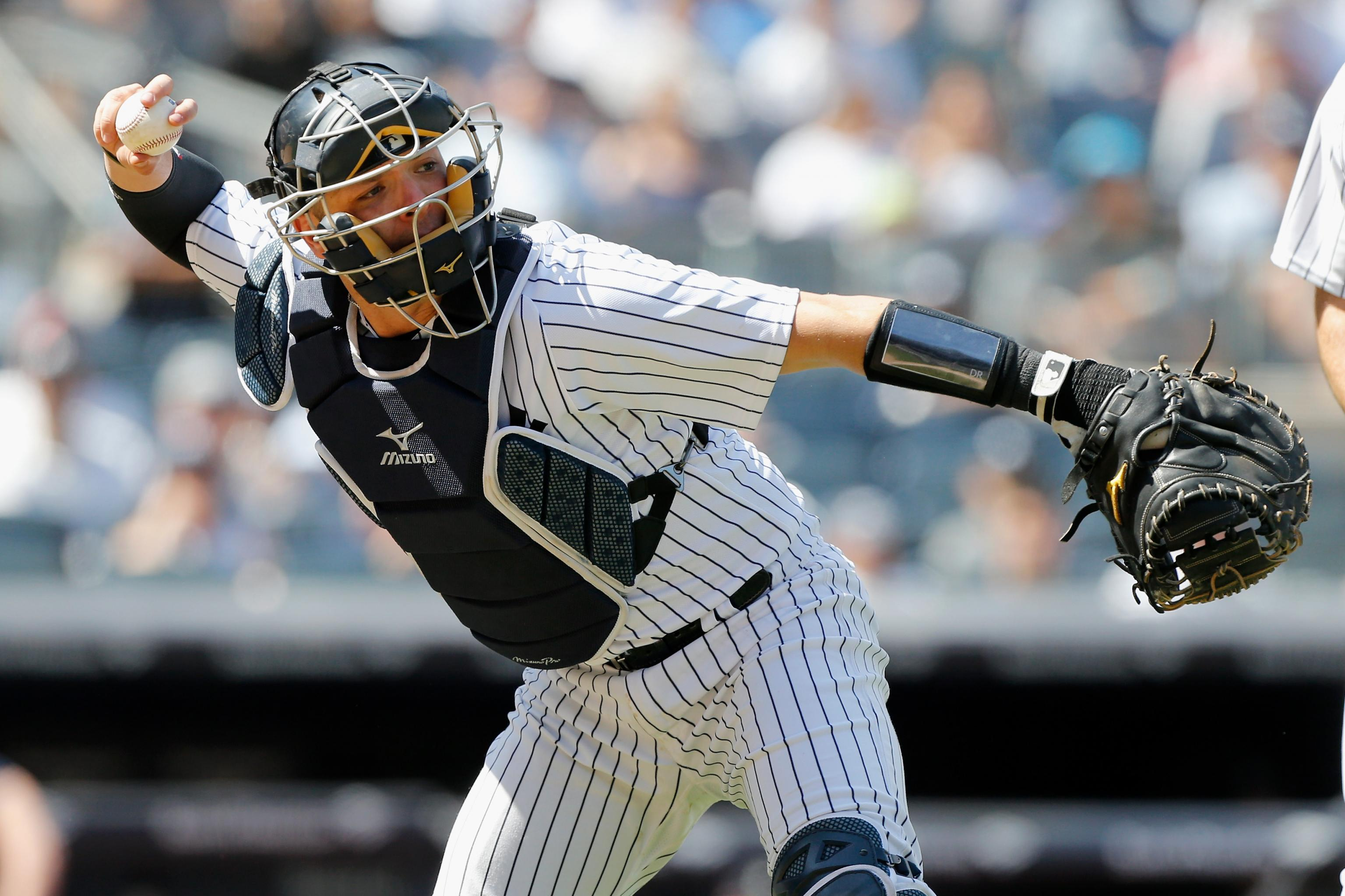 Austin Romine Wins Heart Hustle Award After Gary Sanchez Is Ripped By Fans Bleacher Report Latest News Videos And Highlights