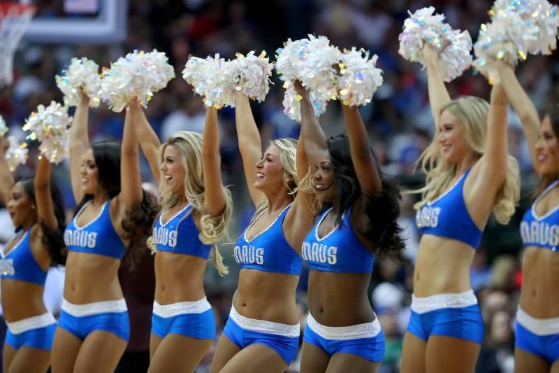 new concept 07590 826ce Dallas Mavericks Dancers Adjust Uniforms to Be Less ...