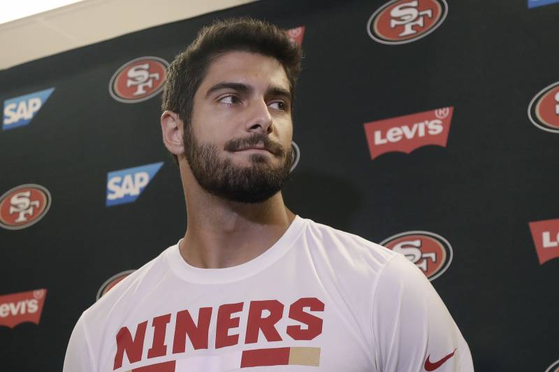Jimmy Garoppolo on Reaction to Porn Star Kiara Mia Date: 'Learning  Experience'
