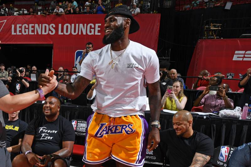 a7f5440a3 New LeBron James  Showtime  Lakers Uniform Appears to Leak on ...