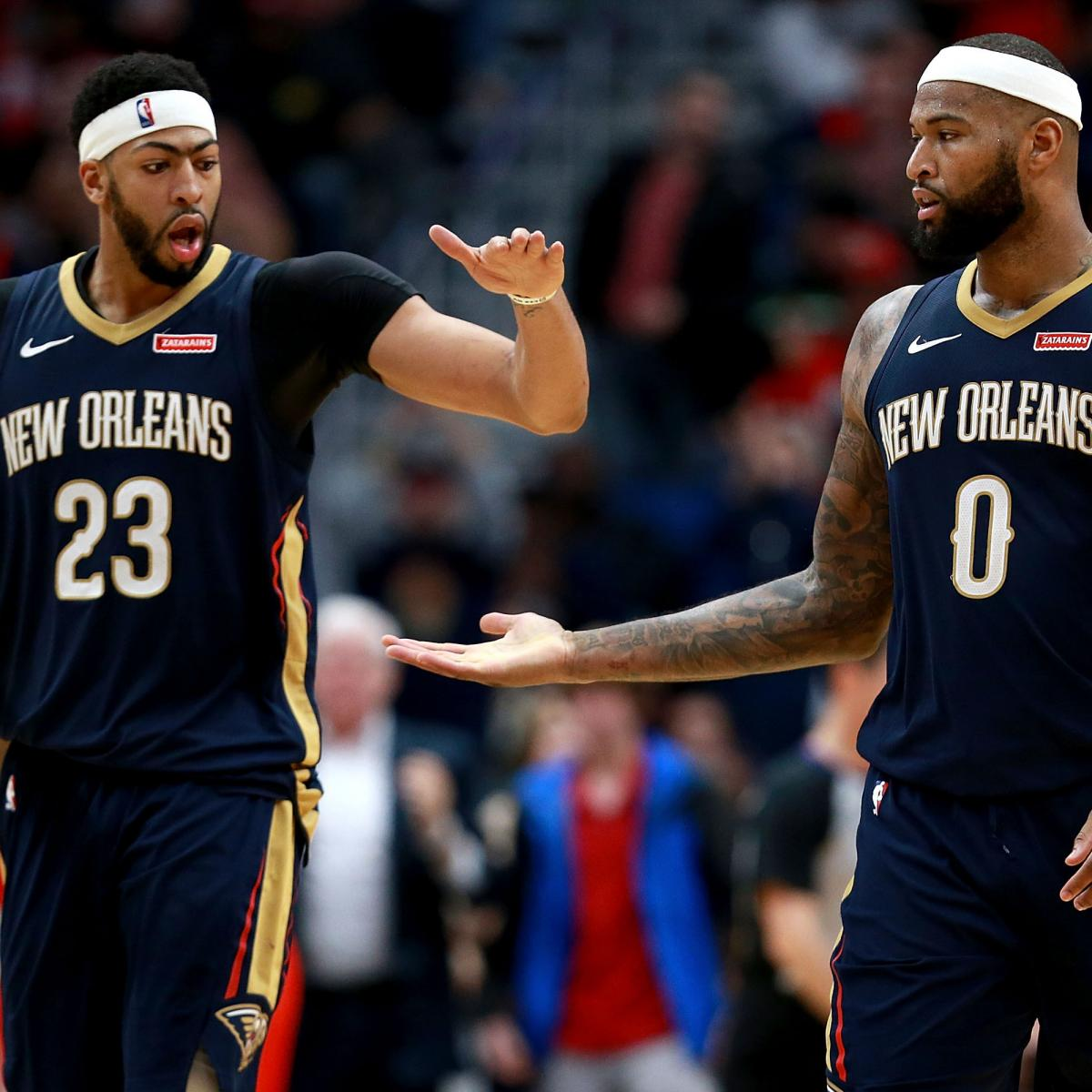 Anthony Davis  Was a Little Shocked  DeMarcus Cousins Joined Warriors  ebd3b2e7f