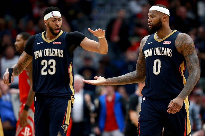 88cae5ffa8f Anthony Davis  Was a Little Shocked  DeMarcus Cousins Joined Warriors