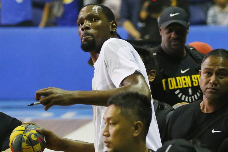 aff0d4ab80c7 Kevin Durant  Absolutely Loved  LeBron James Joining Lakers ...