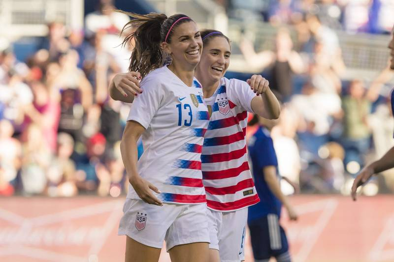 fa0d8d3801d USA Women's Soccer Beats Japan in Friendly Behind Alex Morgan Hat Trick