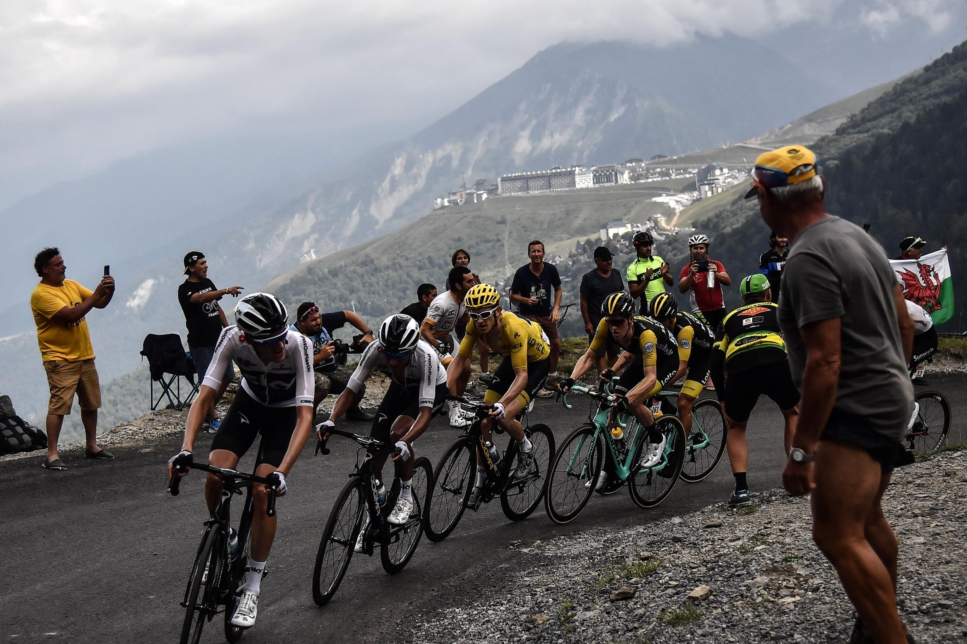 Tour De France 2018 Primoz Roglic Wins Stage 19 Moves Into Overall Top 3 Bleacher Report Latest News Videos And Highlights