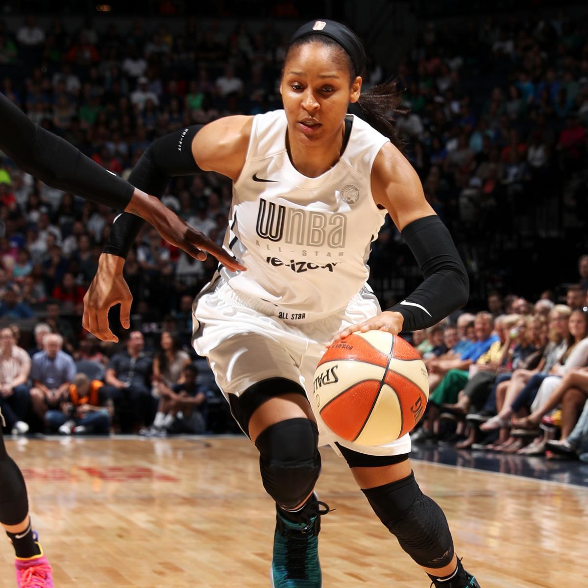 Colorado Shooting R H Youtube Com: Maya Moore Wins MVP As Team Parker Takes 2018 WNBA All