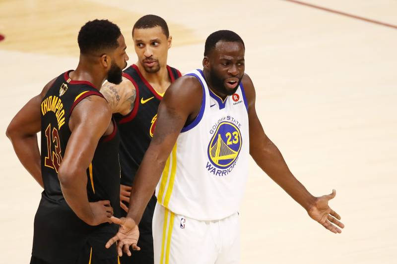 competitive price 1cabe ea569 Jason McIntyre: Tristan Thompson Punched Draymond Green at ...