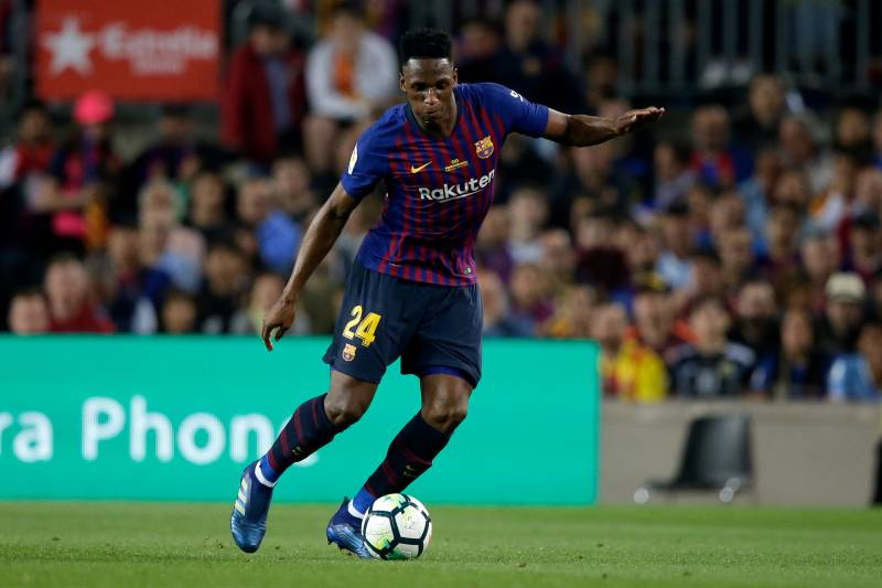 Manchester United Official Reportedly In Barcelona To Secure Yerry Mina Deal Bleacher Report Latest News Videos And Highlights