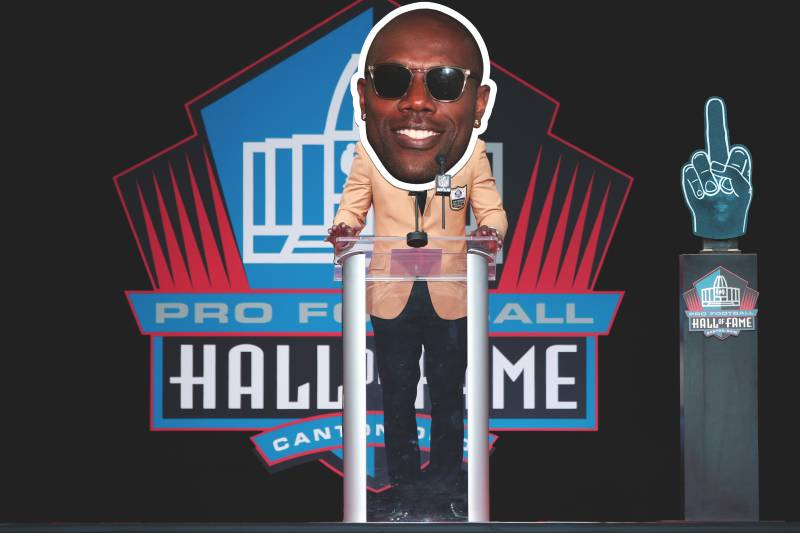best service ade61 6829b Terrell Owens' Hall of Fame Induction Boycott Is a Fitting ...