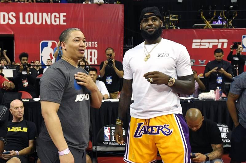 b3d3ed3c239 Lakers News  Jeanie Buss Praises LeBron James After Donald Trump Insults