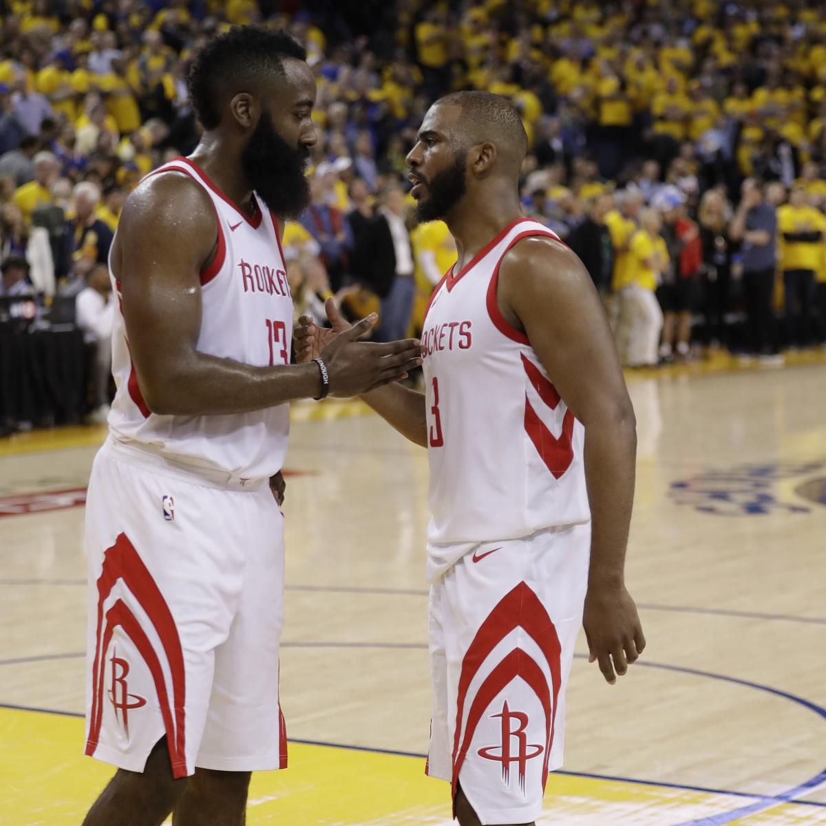 Houston Rockets Game Log: Rockets 2018-19 Schedule: Top Games, Championship Odds And