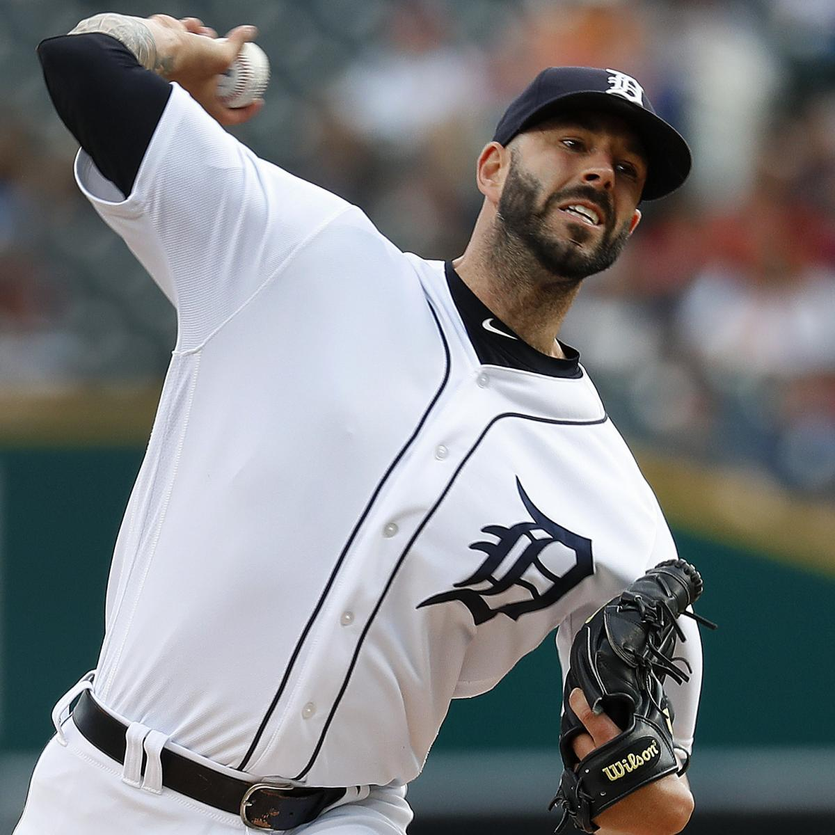 Mike Fiers Traded To Athletics From Tigers For 2 Players