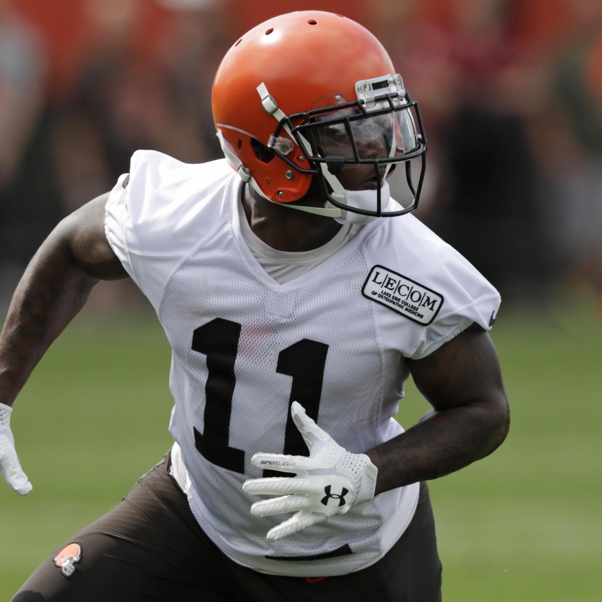 the best attitude 2081b 394b3 Browns Rookie WR Antonio Callaway Cited for Marijuana ...