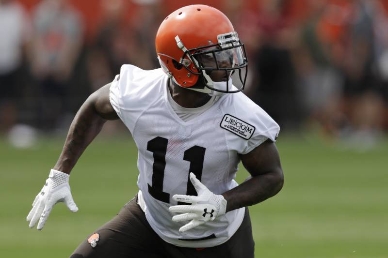 the best attitude c1a40 33312 Browns Rookie WR Antonio Callaway Cited for Marijuana ...