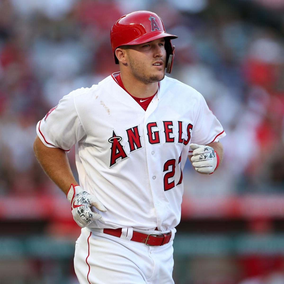 Mike Trout Placed On 10-Day DL With Wrist Injury