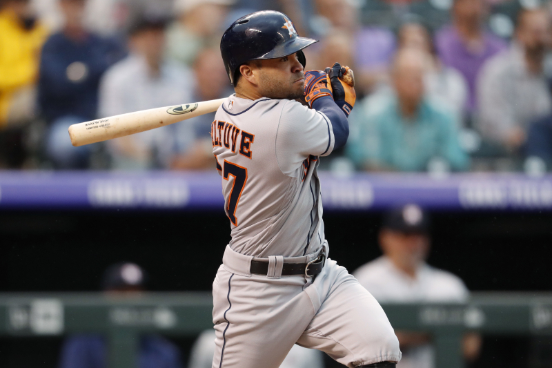 Jose Altuve Underwent Surgery for Knee Injury After Astros Lost ALCS to Red Sox