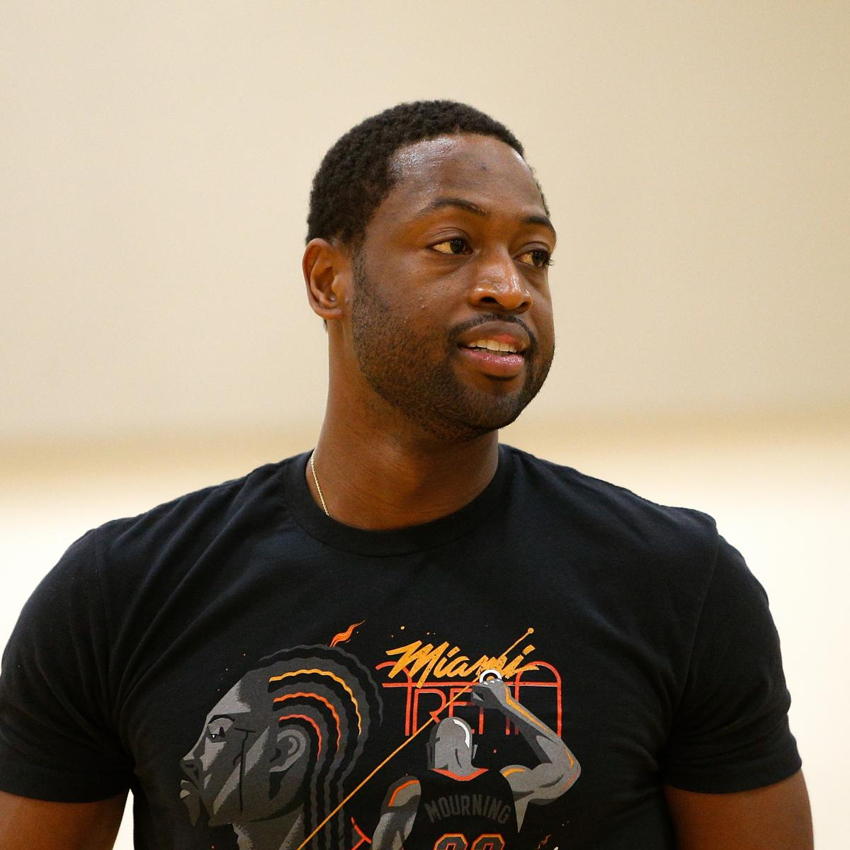Dwyane Wade Says Heat Are Only Team He'd Play for in NBA This Season