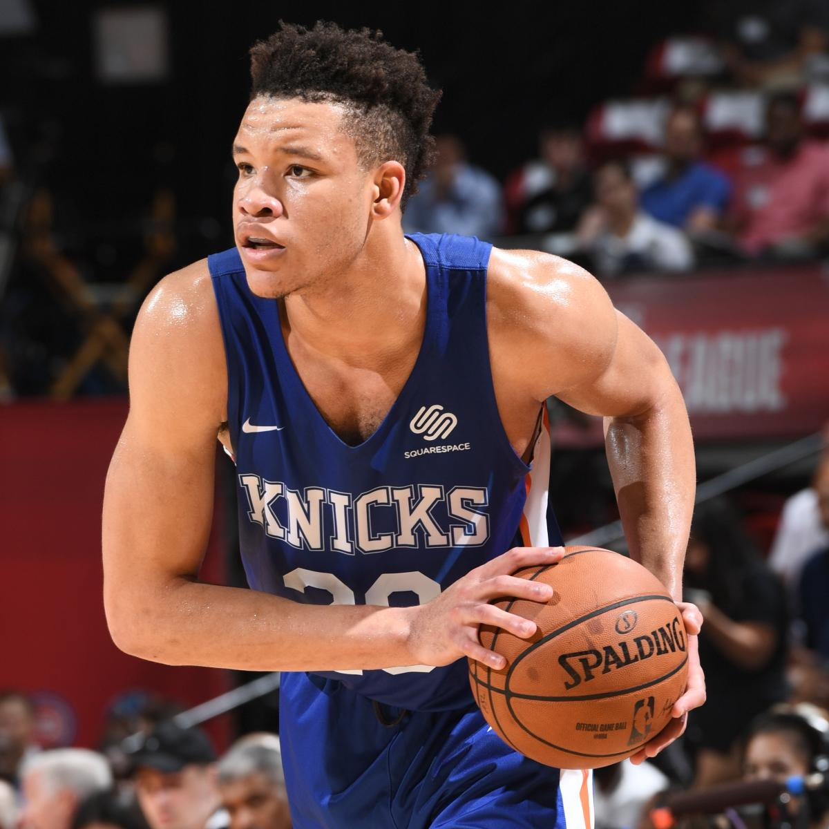 Kevin Knox: 'People Are Sleeping' On Knicks, Predicts 'At