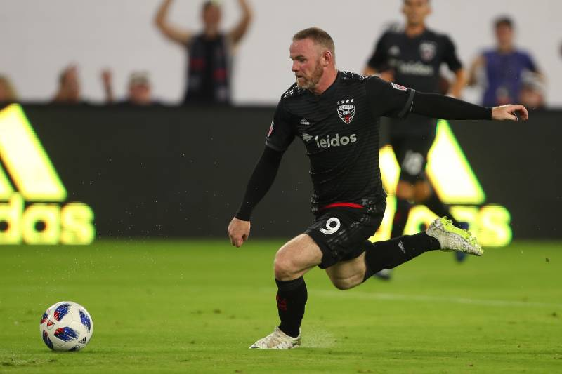 fdc82e410 Wayne Rooney Saves DC United from Open-Net Goal Then Assists Game ...