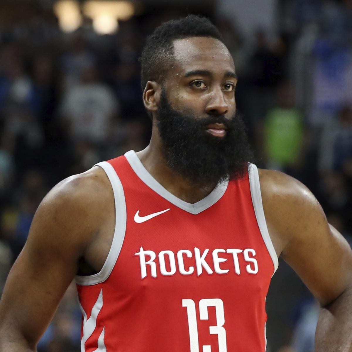 James Harden Injury Report: James Harden Accused Of Throwing Phone Of Woman Recording