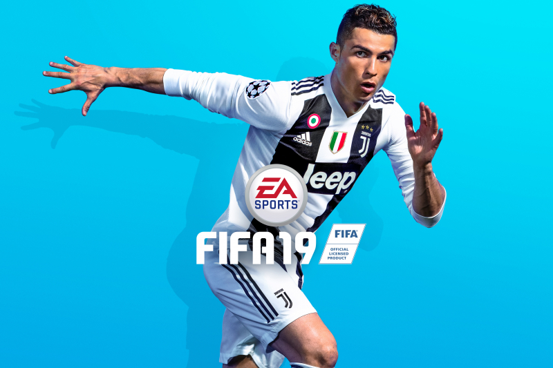 New FIFA 19 Cover Features Cristiano Ronaldo in Juventus Kit