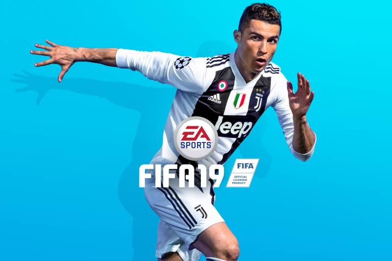 new product 1620a 1cf92 New FIFA 19 Cover Features Cristiano Ronaldo in Juventus Kit ...