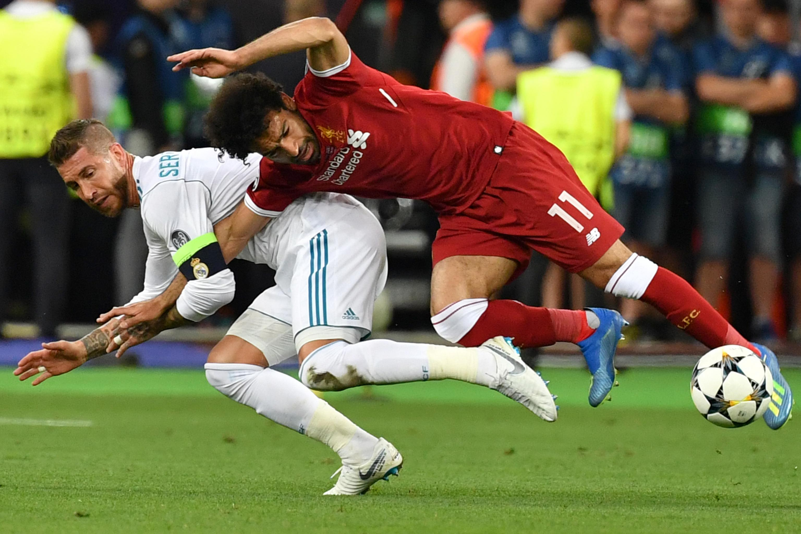 Sergio Ramos Calls Jurgen Klopp's Comments on Mo Salah Injury 'An Excuse' |  Bleacher Report | Latest News, Videos and Highlights