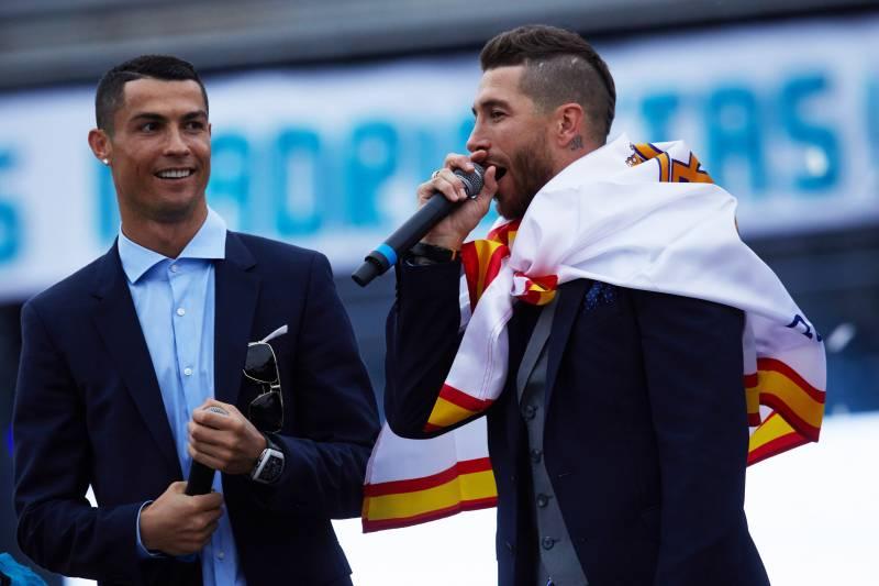 96f75eb70 Sergio Ramos Defends Real Madrid After Cristiano Ronaldo s  Family ...