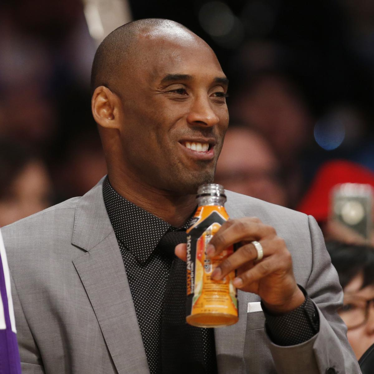 Report: Kobe Bryant's $6M Investment in BodyArmor Sports Drink Now Worth $200M