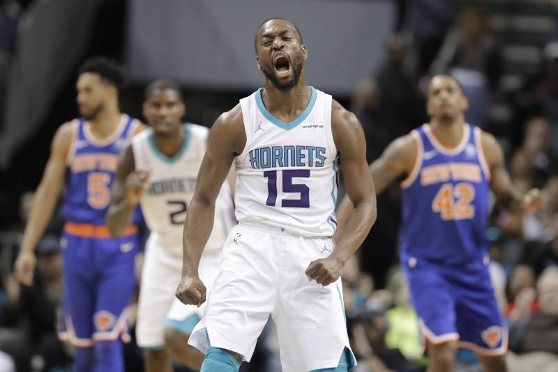 68fdd17c1db0d Charlotte Hornets  Kemba Walker (15) reacts to making a 3-point basket