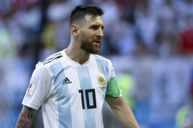 ddd23746ad3 KAZAN, RUSSIA - JUNE 30: Lionel Messi of Argentina during the 2018 FIFA  World