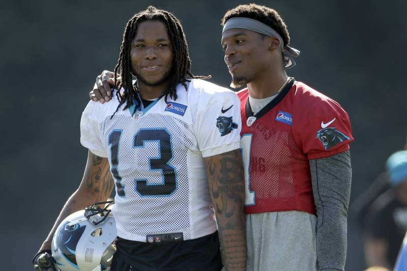 save off 57d73 fb4e7 Panthers' Cam Newton on Kelvin Benjamin Criticism: I'm in a ...