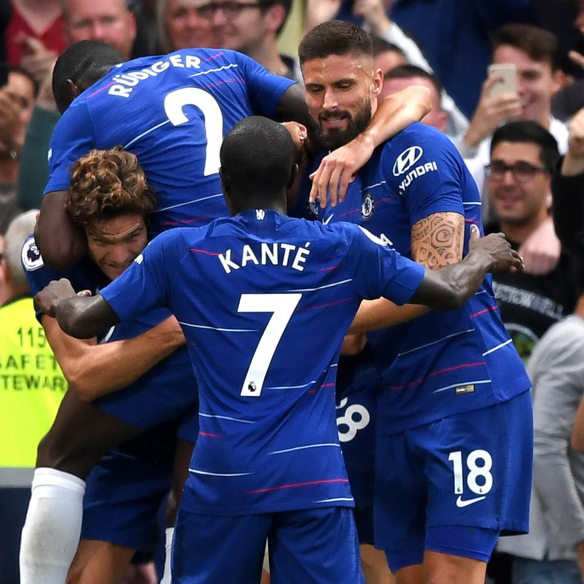 Tottenham 3 Fulham 1 Match Highlights Harry Kane Scores: EPL Table: 2018 Standings After Saturday's Week 2 Results