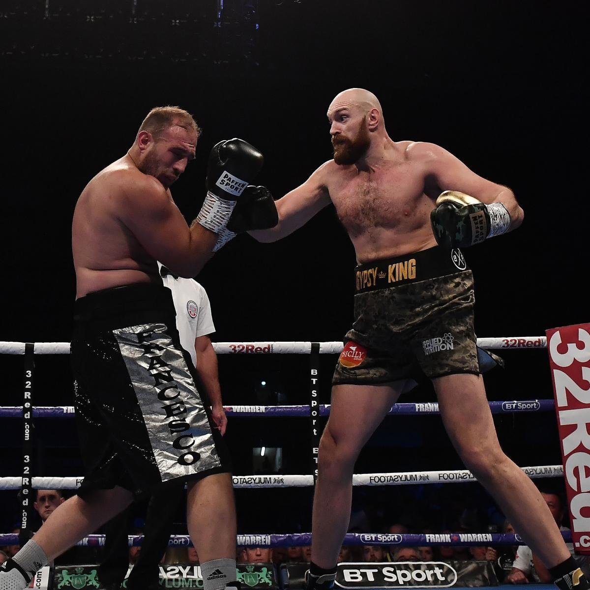 Tyson Fury Soundly Beats Francesco Pianeta Via Unanimous