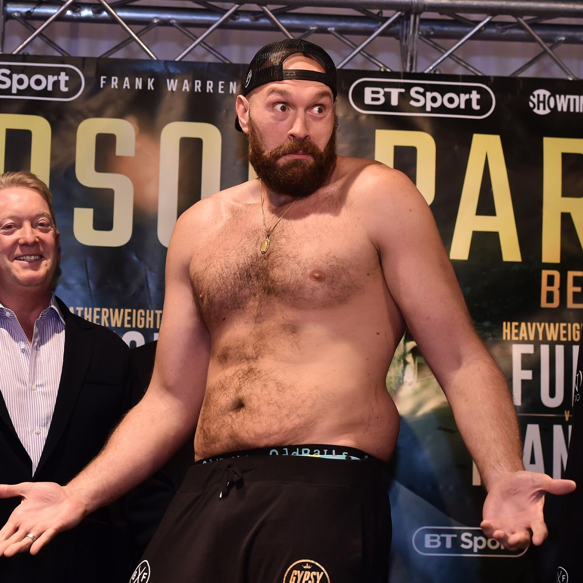 Deontay Wilder Vs. Tyson Fury Fight Announced; Opening