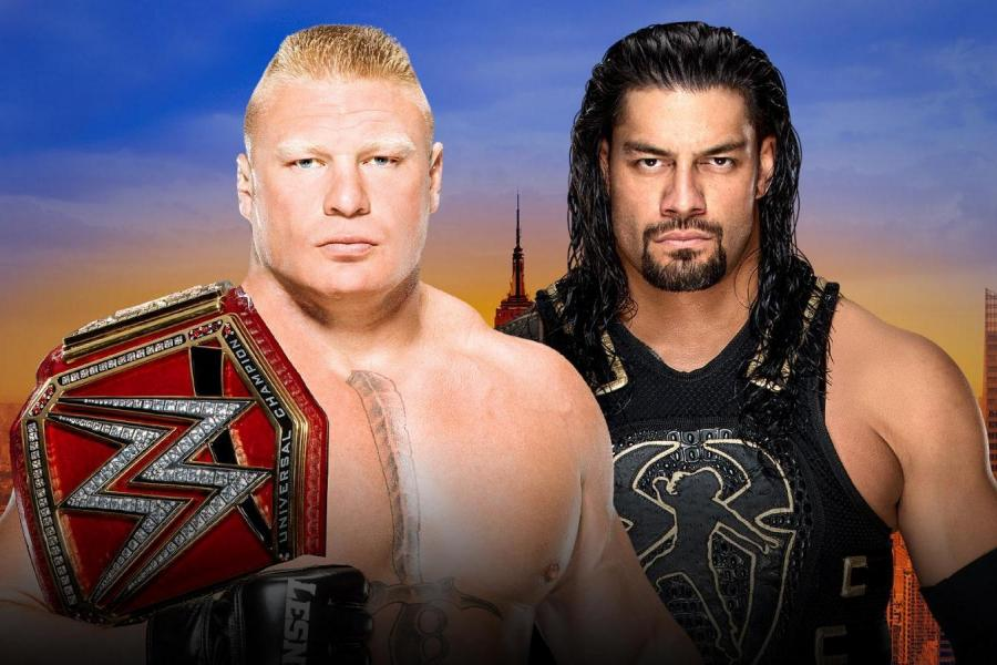 Roman Reigns Beats Brock Lesnar Wins Universal Title At Wwe Summerslam 2018 Bleacher Report Latest News Videos And Highlights
