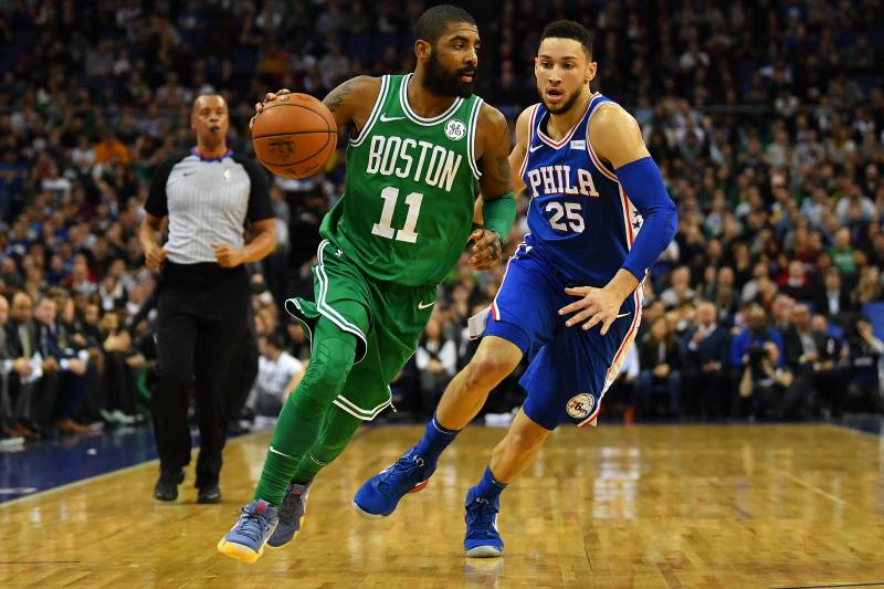 5ccf69ce2711 Ben Simmons Says  Next Goal  Is Beating Kyrie Irving s Celtics in ...