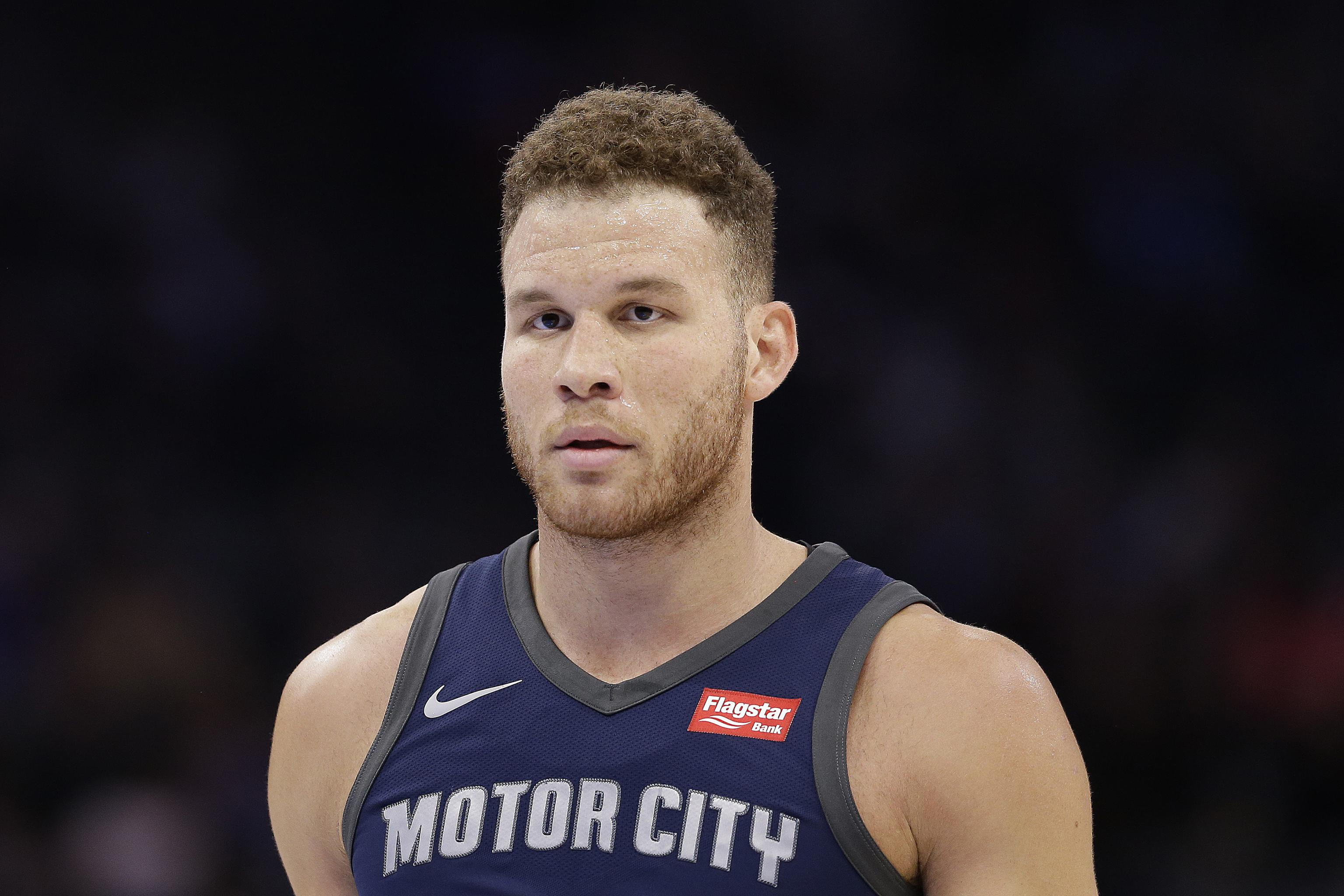 half off 63880 a8be5 Blake Griffin on Going to Therapy: 'They're Helping You Find ...
