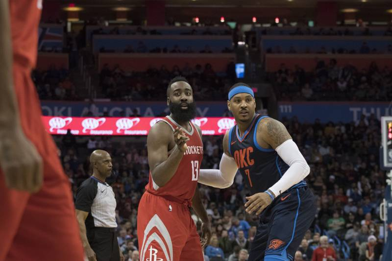 677f40ffe91 James Harden Says Adding Carmelo Anthony to Rockets Will Be  Easy ...