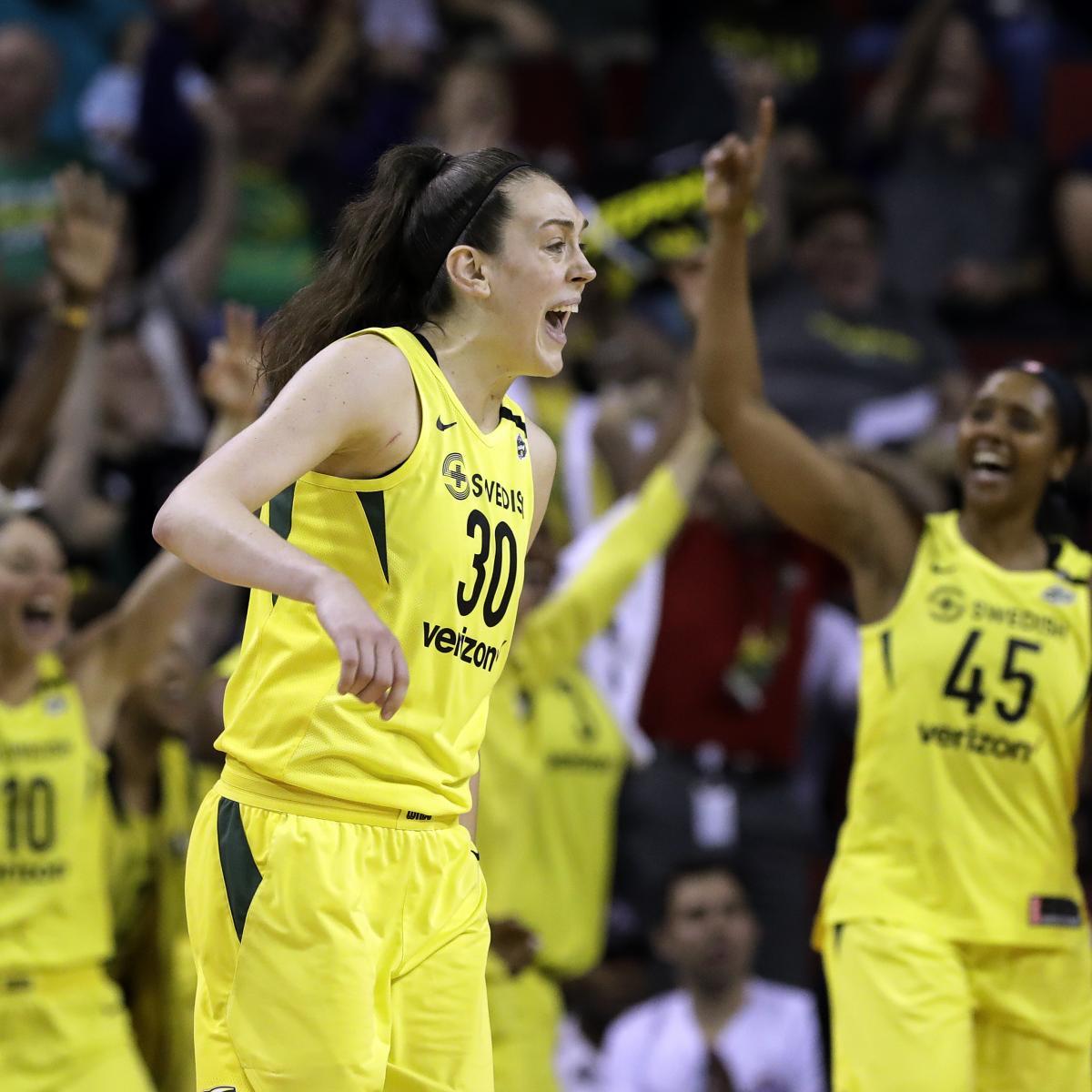 WNBA Playoff Bracket 2018: Semifinals Matchups, TV, Live ...