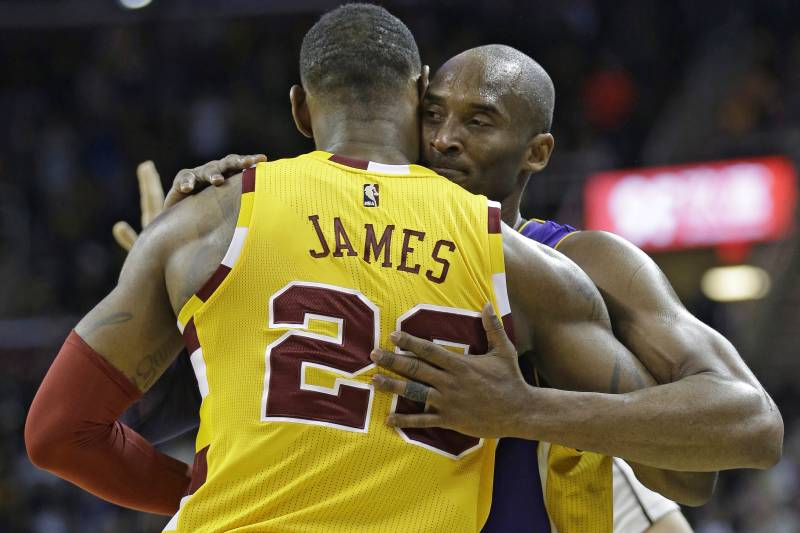 a12e54115783 Kobe Bryant  Diehard Fans Will  Fall in Line  with LeBron James Joining  Lakers