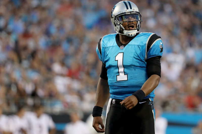 Panthers' Cam Newton in Walking Boot, Foot Injury Reportedly Diagnosed as Sprain