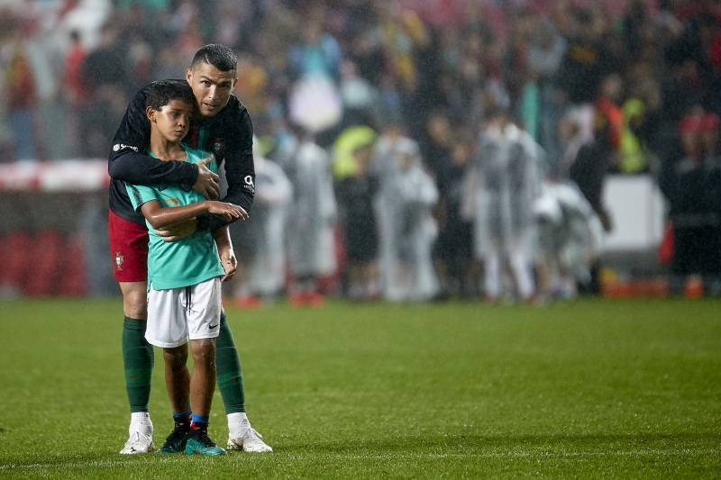 Cristiano Ronaldo Junior Joins Juventus Youth Squad Bleacher