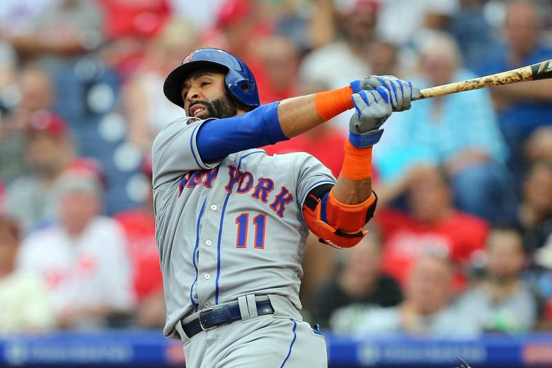 lowest price e2b55 05b8e Mets Outfielder Jose Bautista Traded to Phillies | Bleacher ...