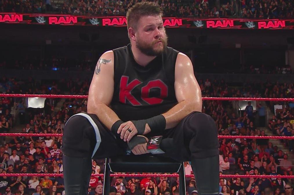 Image result for kevin owens quits