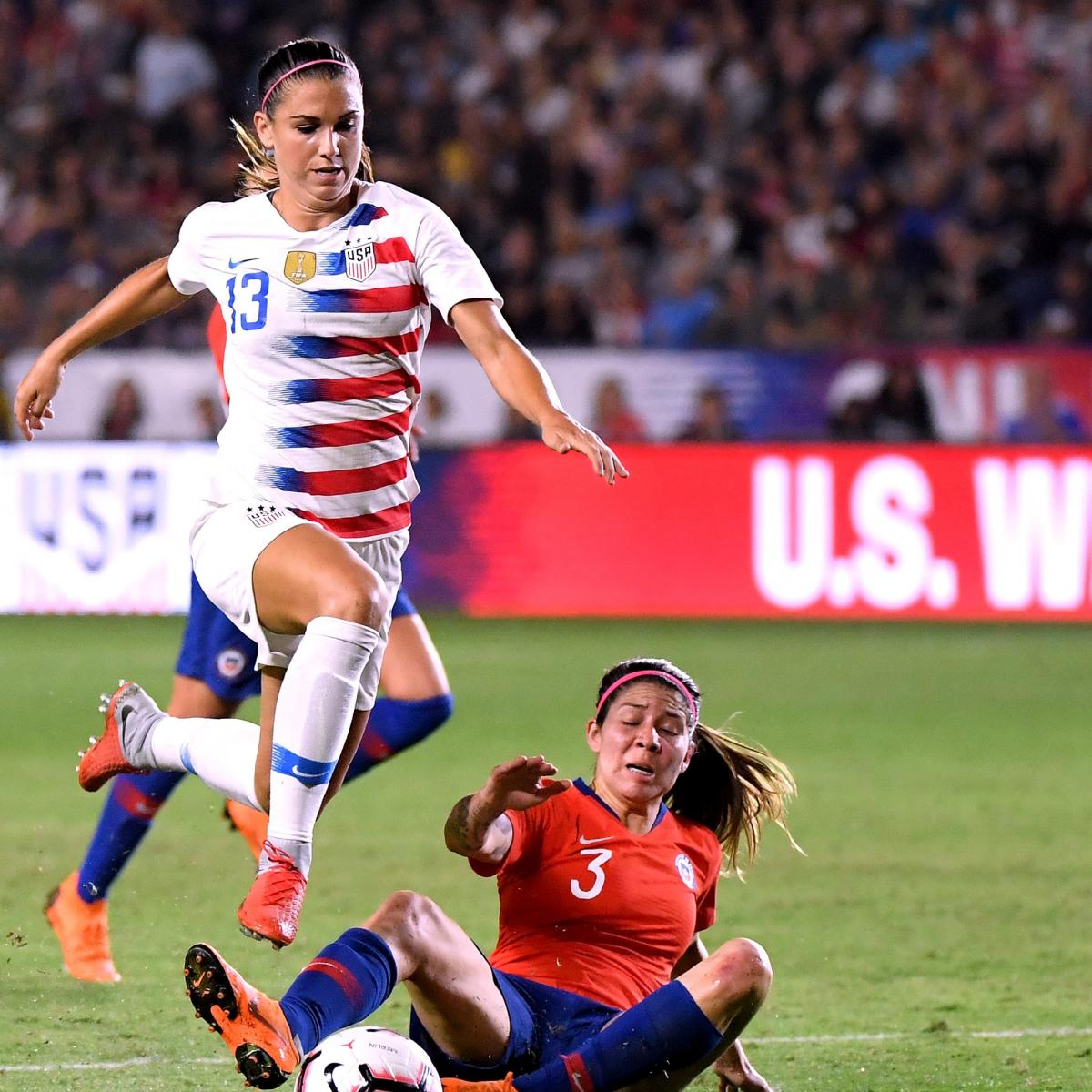 An Own Goal And Glaring Misses: Alex Morgan, USA Women's Soccer Beat Chile In 2018