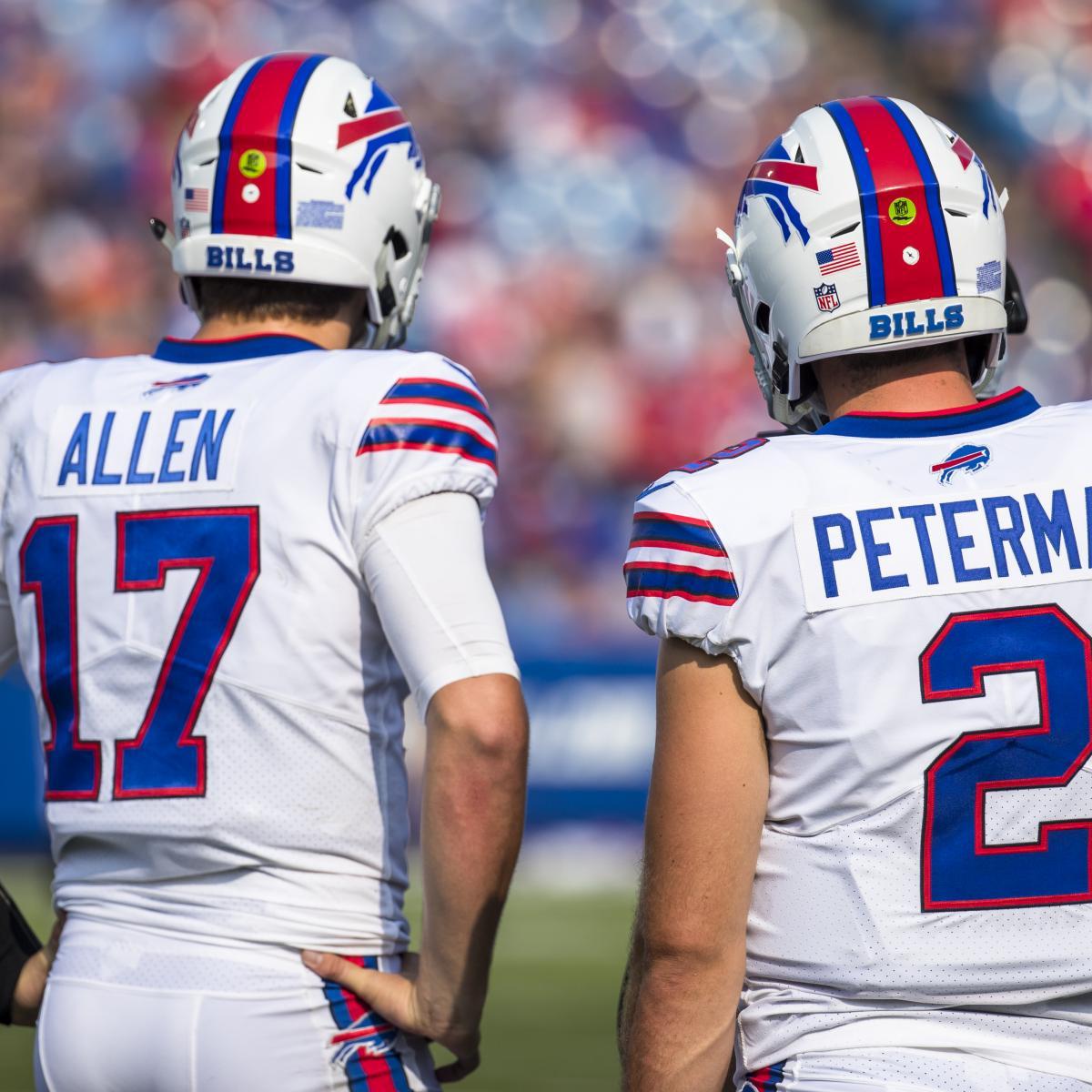 promo code 9e126 29d6c Buffalo Bills Sitting Josh Allen Is the Right Decision in ...