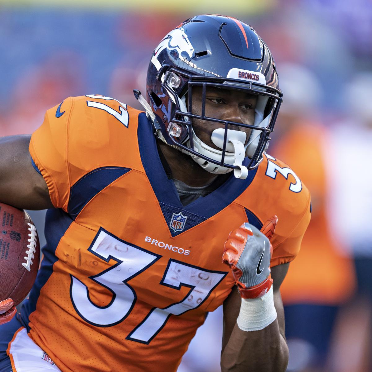 Denver Broncos Depth Chart: Royce Freeman Named Broncos' Starting RB Over Devontae