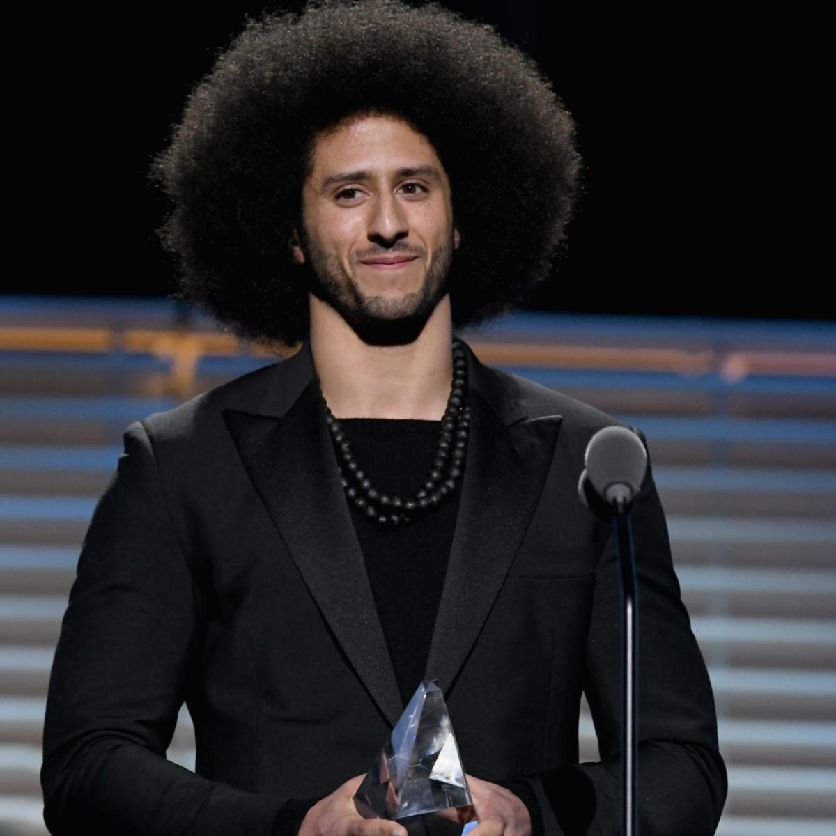 Colin Kaepernick Named Face of Nike's 30th Anniversary of 'Just Do It' Campaign